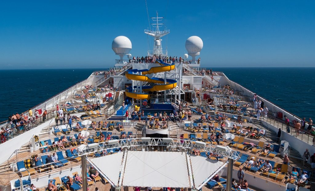 Avoid Crowds looks at cruise ship movements to predict crowds.