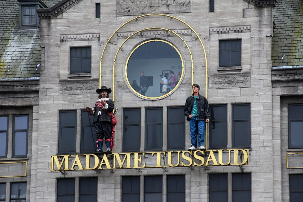 Madame Tussaud can be visited in many countries