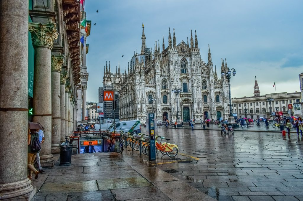 Milan, Italy on Avoid Crowds