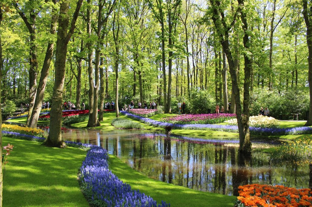 Keukenhof proved to be a popular Eastern destination.