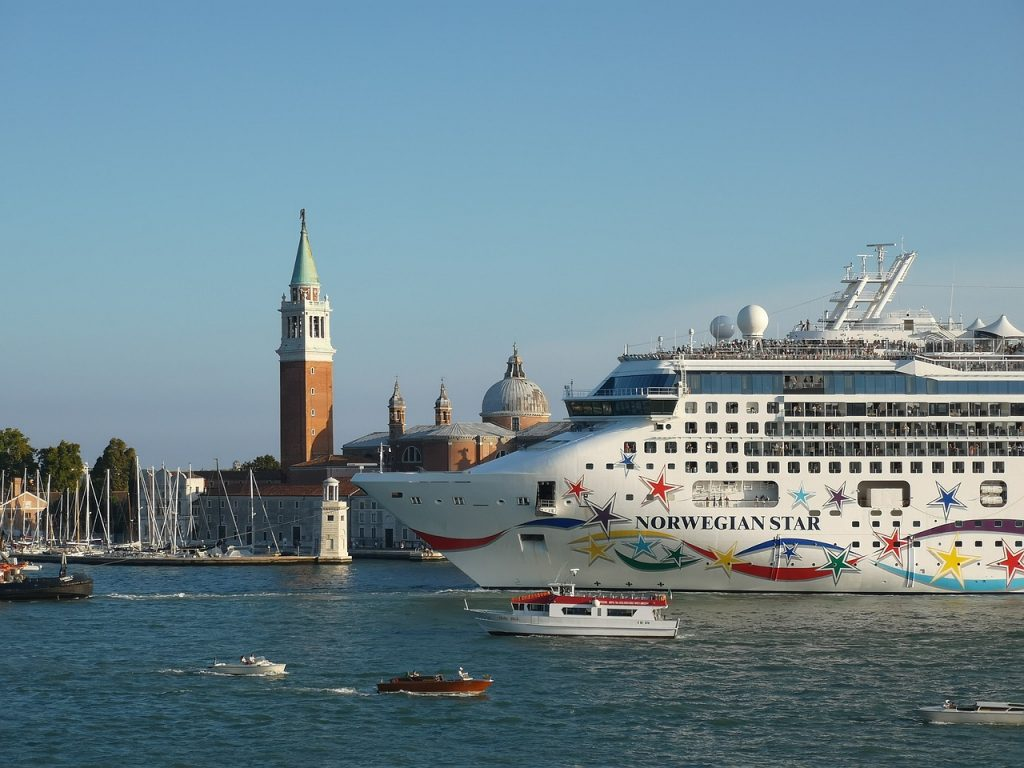 Venice Cruise Ship amidst overtourism concerns
