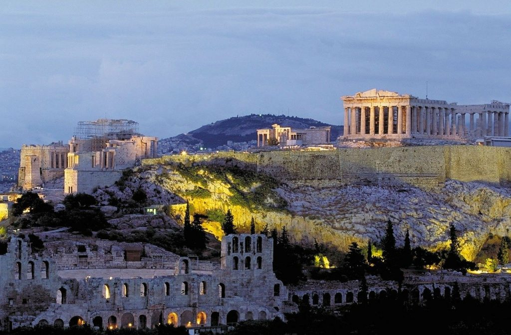 The Acropolis can be very busy in Greece's peak season