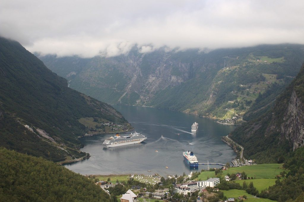 Cruise ships can make Europe busy