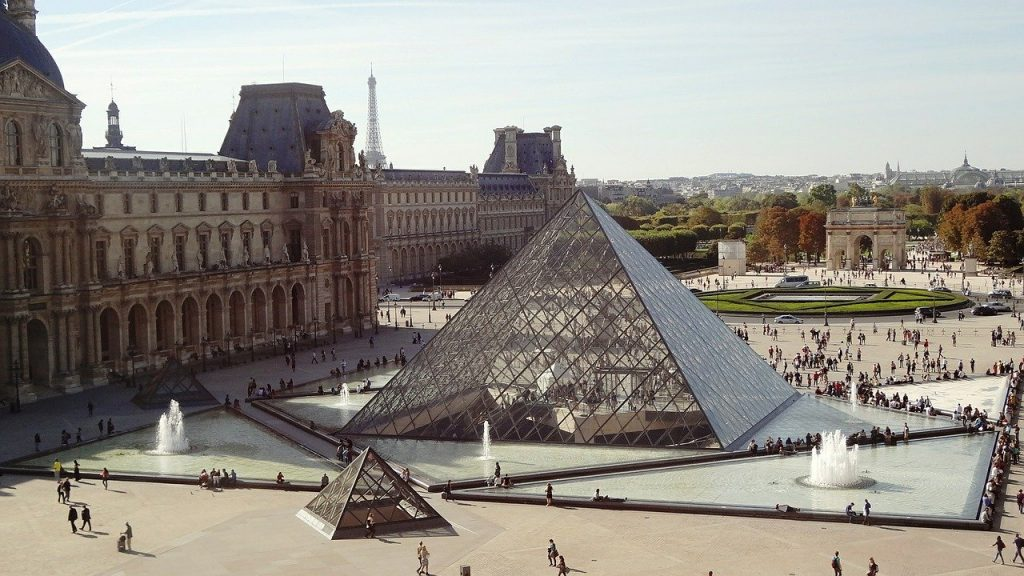 The Louvre (temporarily) closed on March 1 due to the Coronavirus