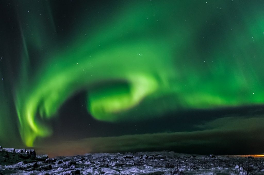 September is a great month to visit Iceland for the Northern Lights.