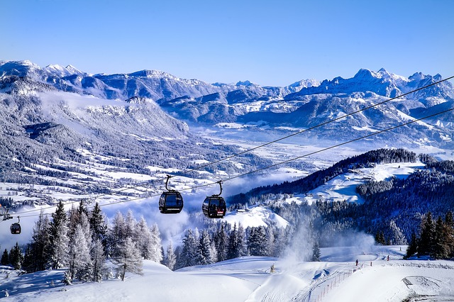 Best time to visit Europe for winter sports