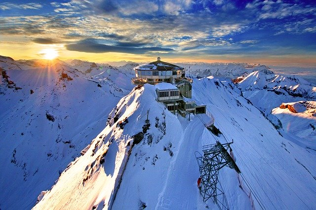 Best time to visit Switzerland for winter sports