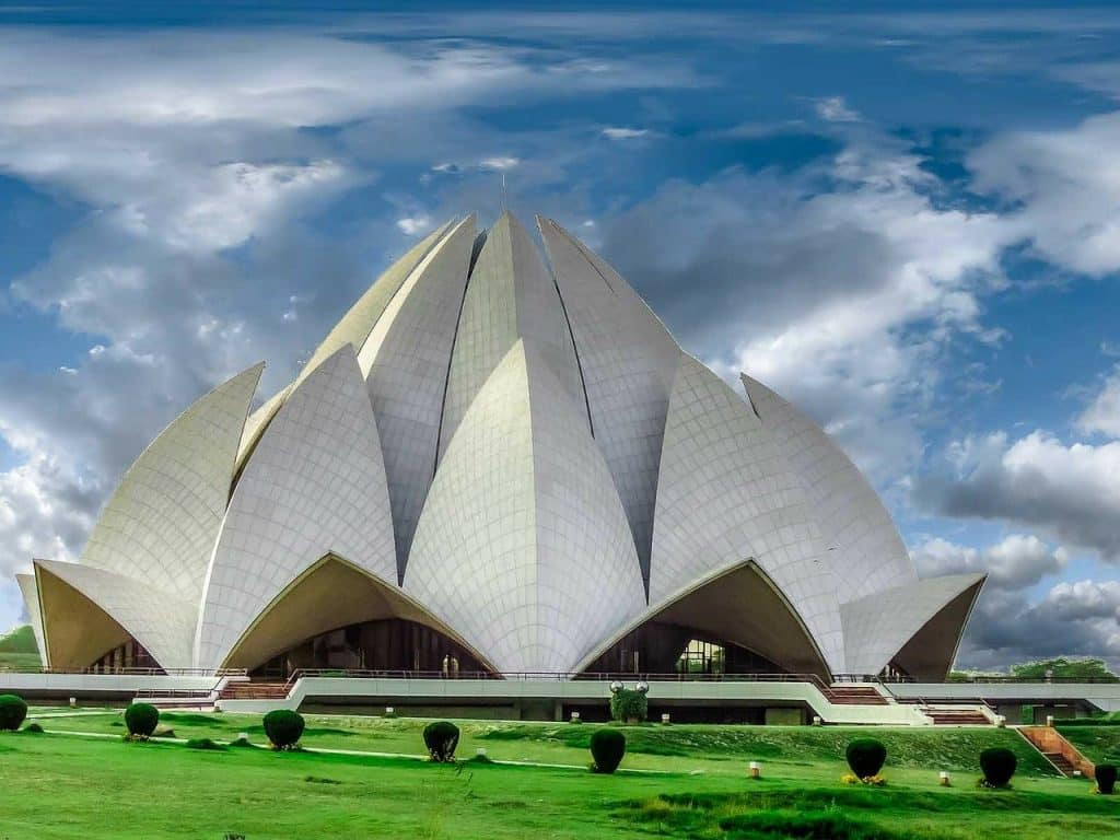 Things to do New Delhi - Lotus Temple