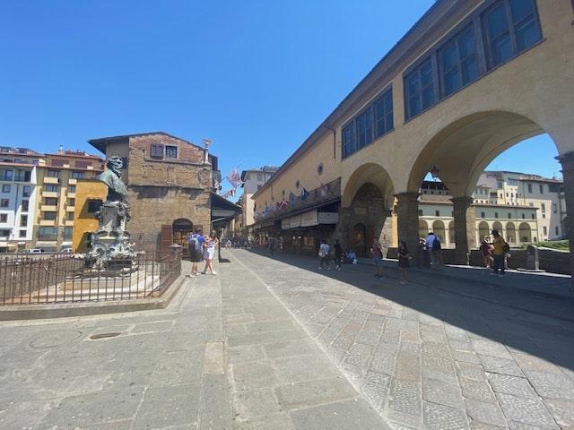 Florence' Ponte di Vecchio June 2020