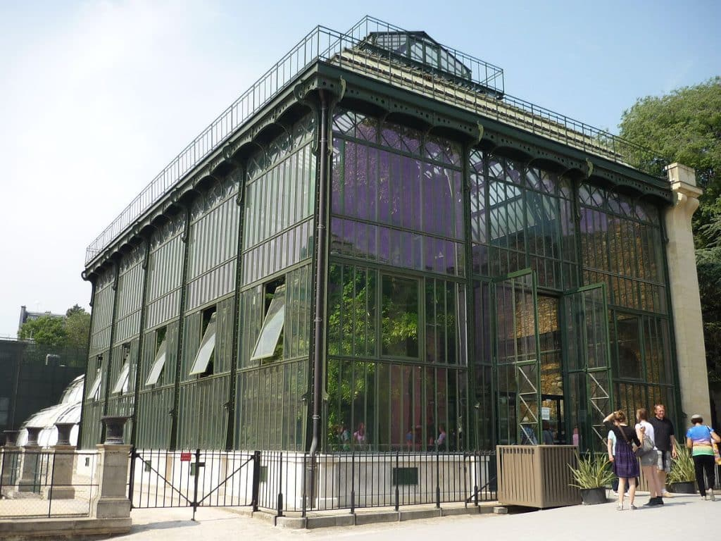 Greenhouse Jardin des Plantes Paris