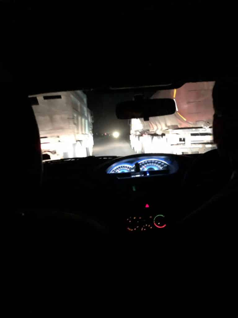 Ramthambore return drive to Jaipur