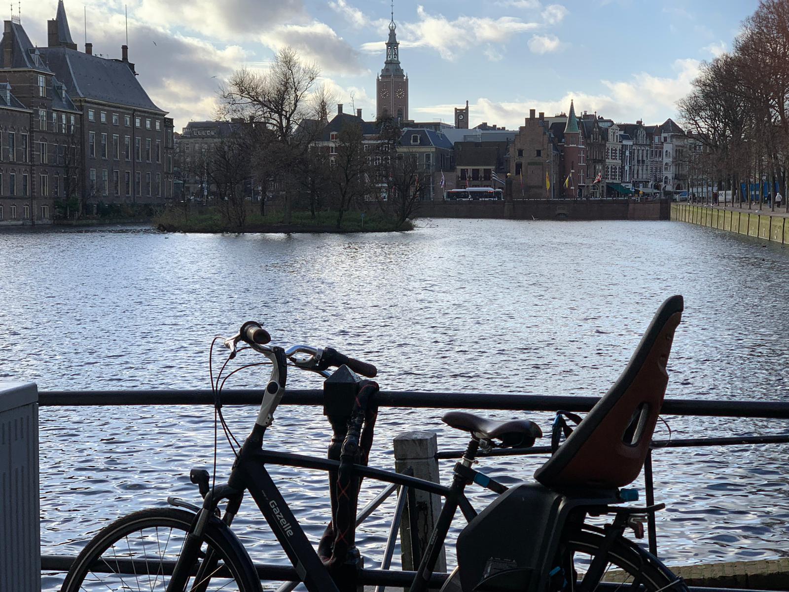 Lockdown walk through The Hague
