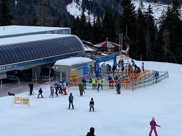 Skiing during the 3rd COVID lockdown in Austria