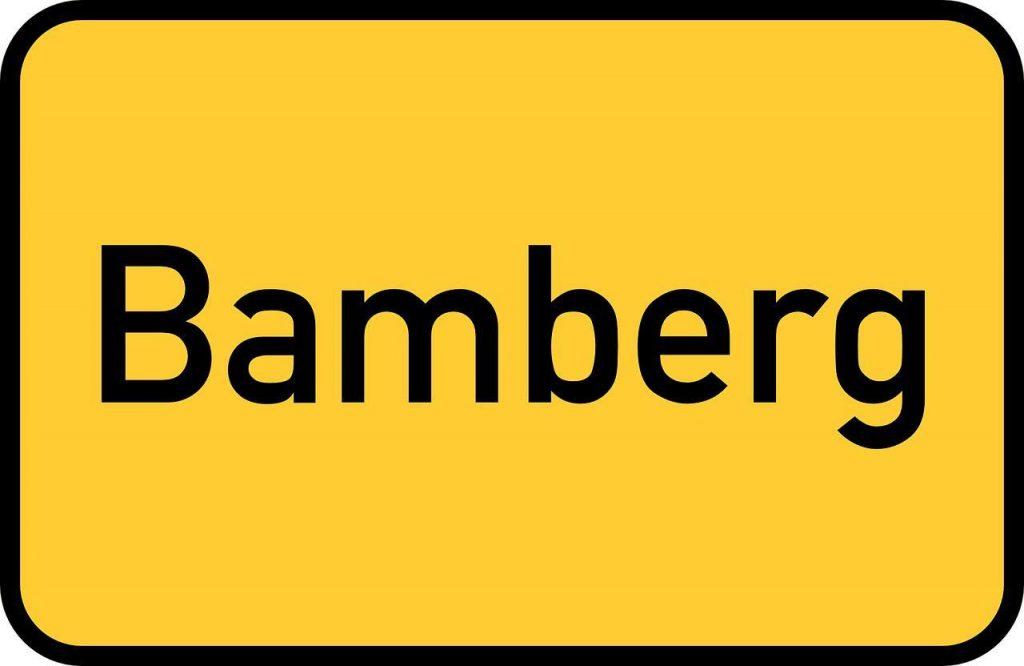 Bamberg Germany Alternative Destinations Avoid Crowds Street Sign
