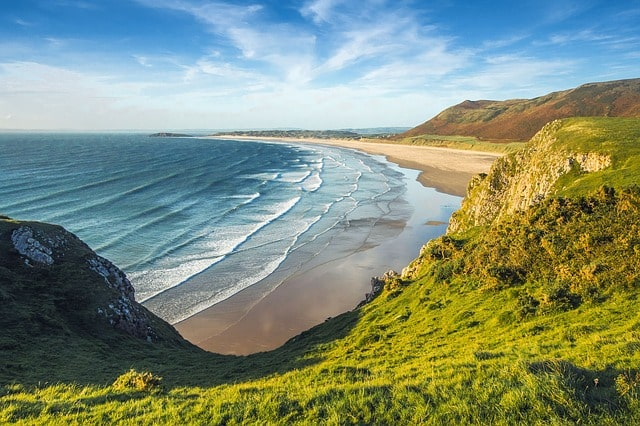 England best time to visit Beach