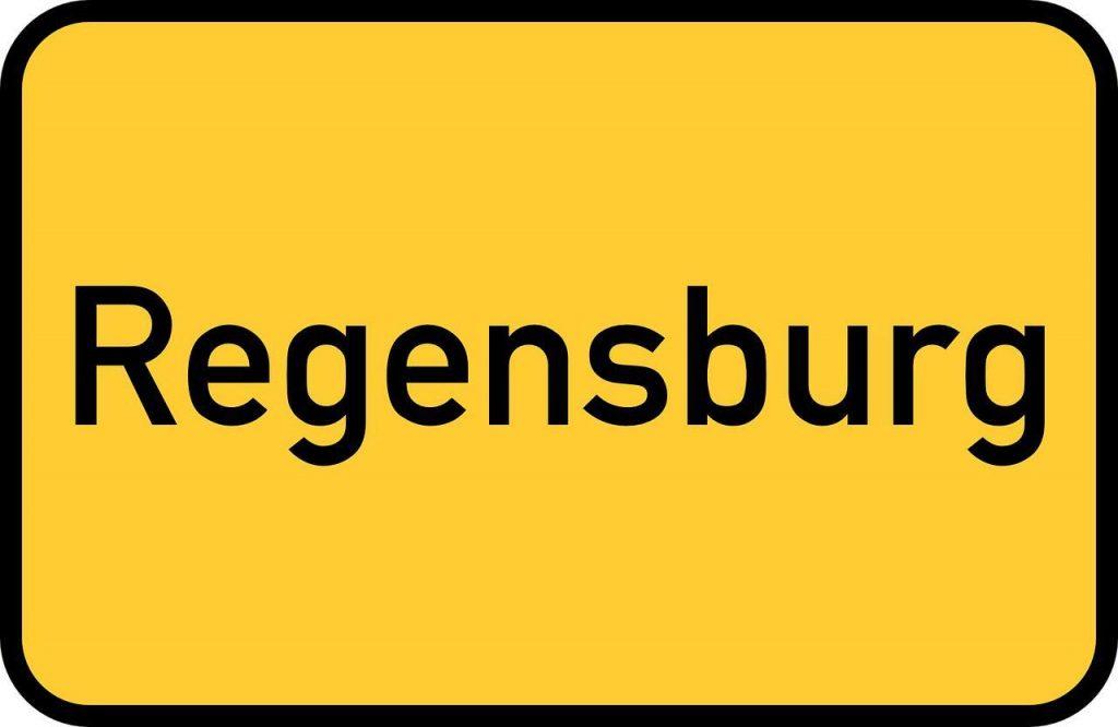 Street sign Regensburg Germany Alternative Destinations Avoid Crowds