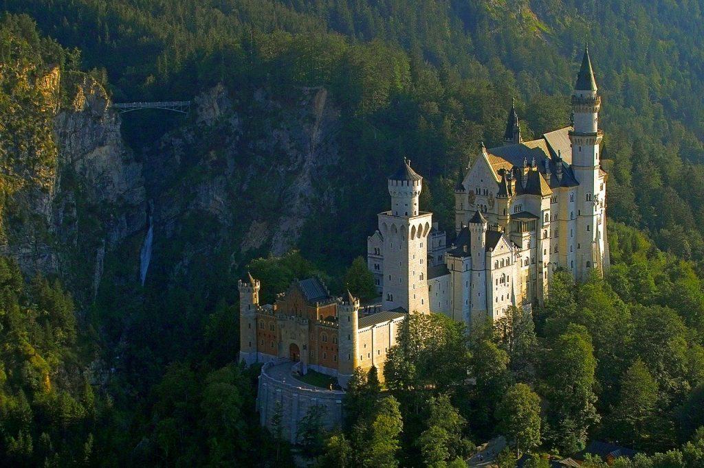 Neuschwanstein standard route Germany