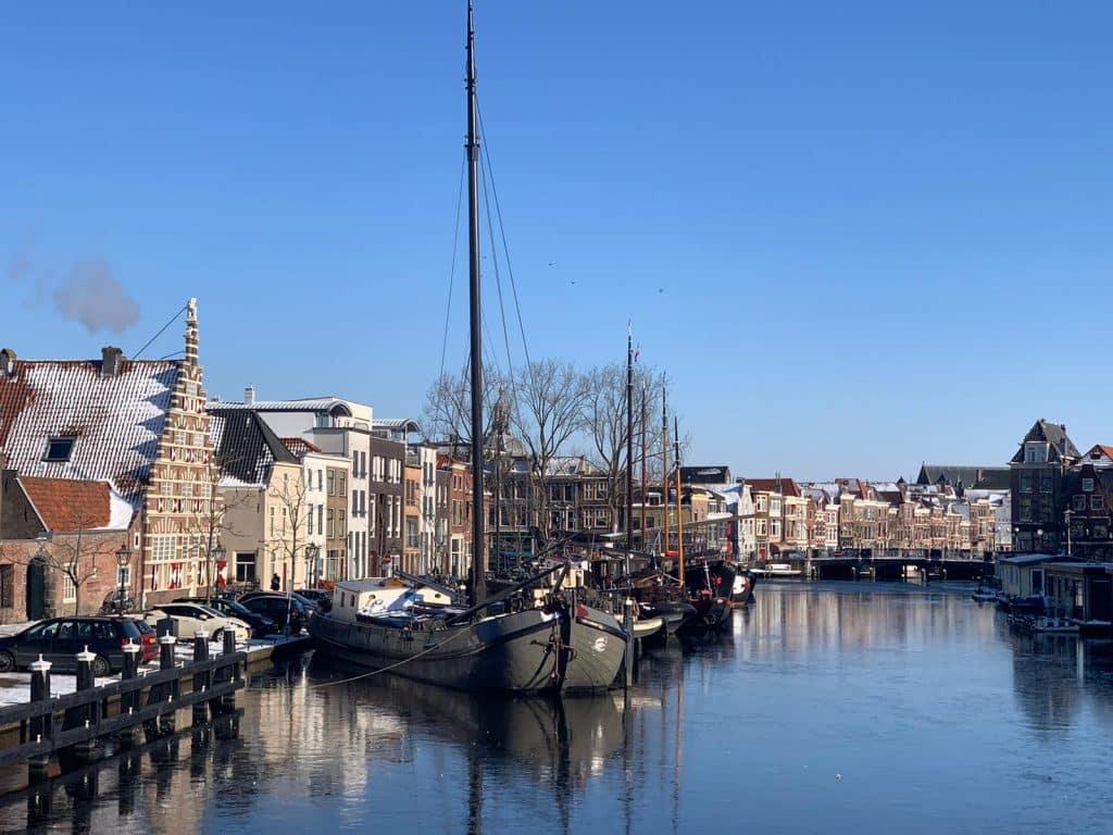 Leiden Singelpark Stadstimmerwerf classic ships