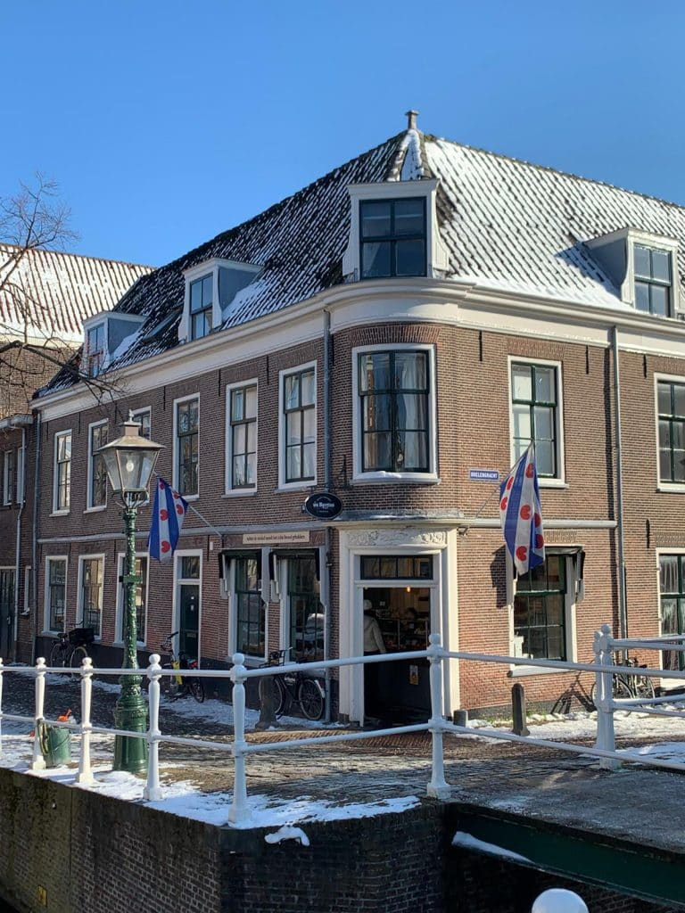 Leiden Singelpark detour bakery