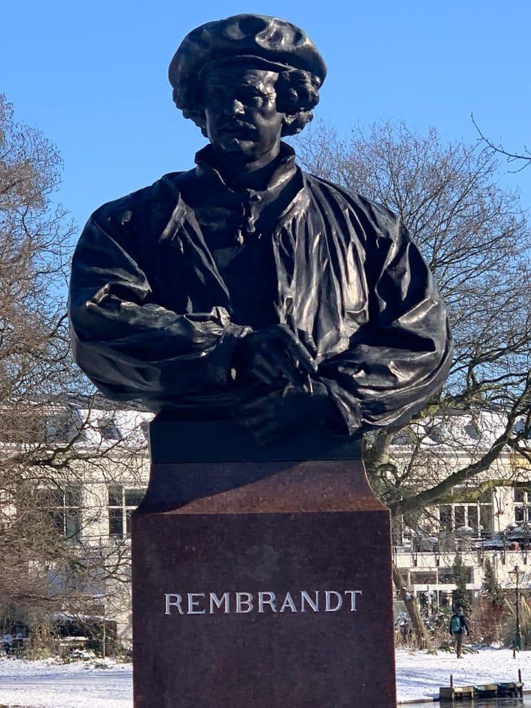 Leiden singelpark Rembrandt