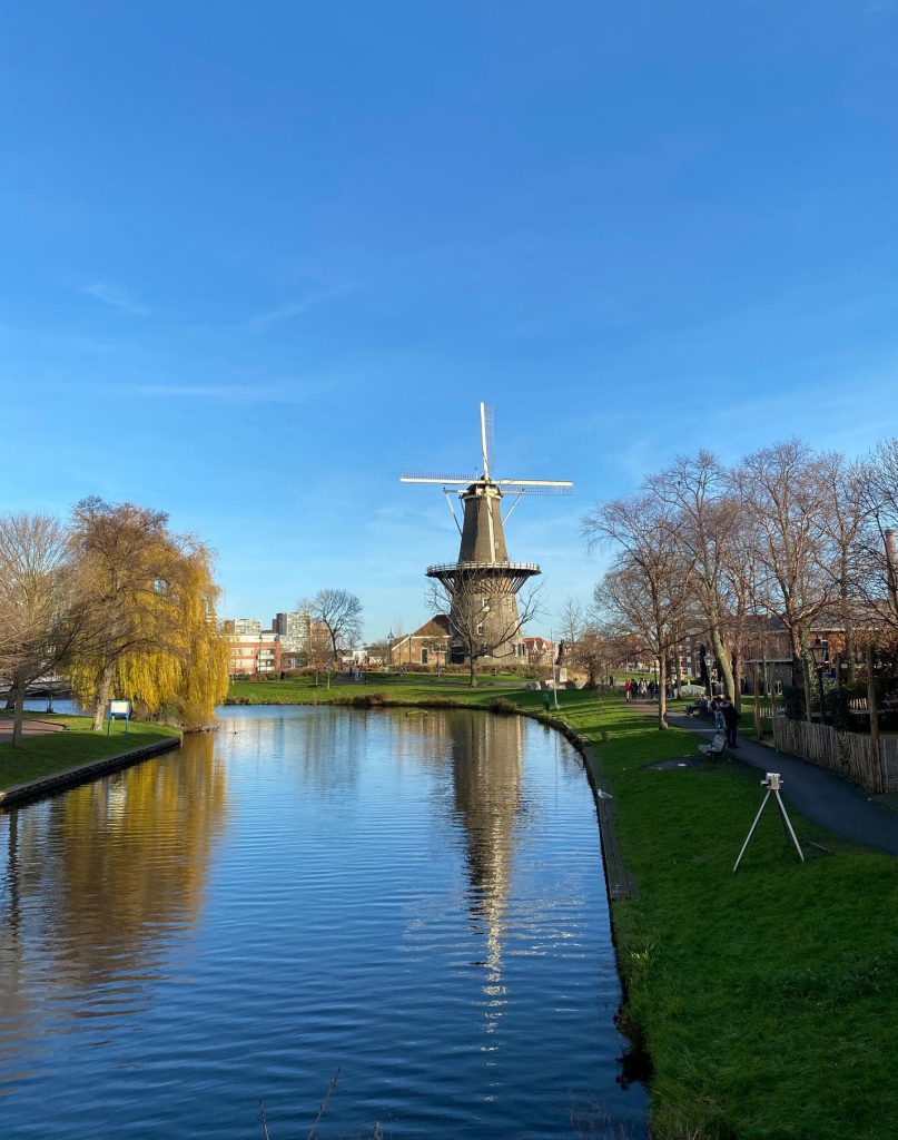 Molen de Valk windmill Leiden singelpark