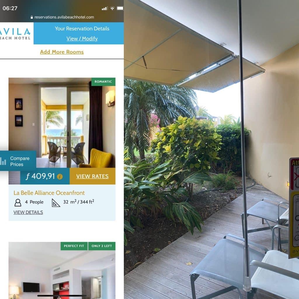 Avila Beach Hotel booked versus reality